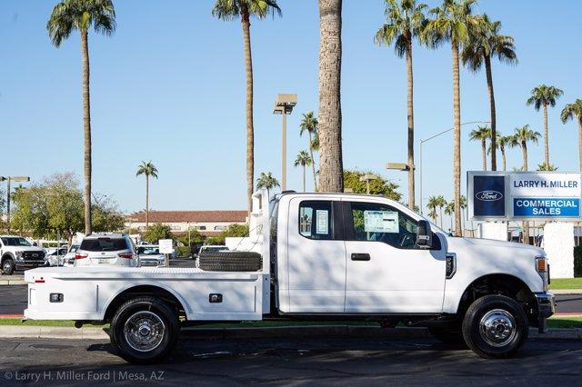 2020 Ford F-350 Super Cab DRW 4x4, Knapheide PGNC Gooseneck Platform Body #20P459 - photo 14