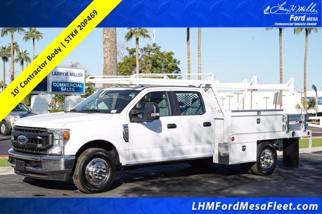 2020 Ford F-350 Crew Cab DRW 4x2, Scelzi Contractor Body #20P469 - photo 1