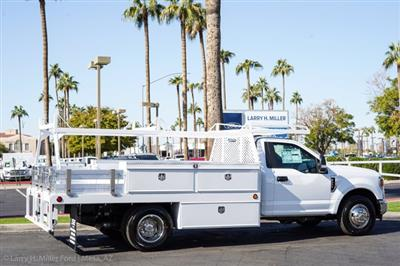 2020 Ford F-350 Regular Cab DRW 4x2, Scelzi CTFB Contractor Body #20P479 - photo 12