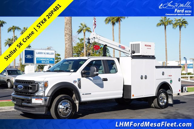 2020 Ford F-550 Super Cab DRW 4x4, Reading Mechanics Body #20P481 - photo 1