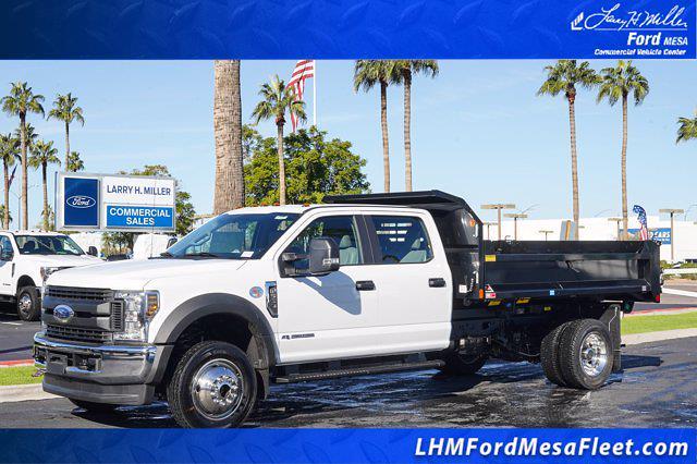 2020 Ford F-550 Crew Cab DRW 4x4, Monroe Dump Body #20P483 - photo 1
