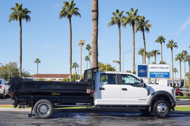 2020 Ford F-550 Crew Cab DRW 4x4, Monroe MTE-Zee Dump Body #20P483 - photo 10