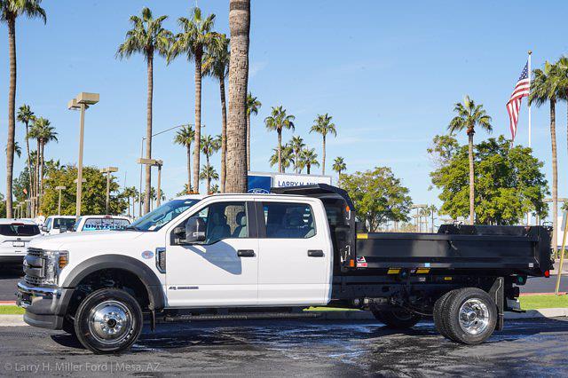 2020 Ford F-550 Crew Cab DRW 4x4, Monroe MTE-Zee Dump Body #20P483 - photo 3