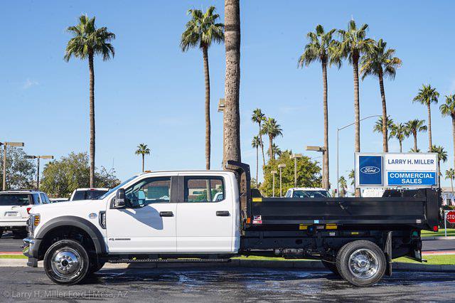 2020 Ford F-550 Crew Cab DRW 4x4, Monroe MTE-Zee Dump Body #20P483 - photo 5