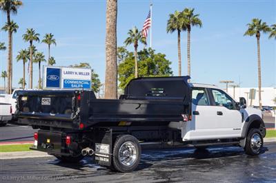 2020 Ford F-550 Crew Cab DRW 4x4, Monroe MTE-Zee Dump Body #20P483 - photo 8