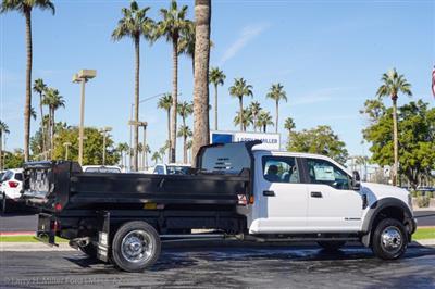 2020 Ford F-550 Crew Cab DRW 4x4, Monroe MTE-Zee Dump Body #20P483 - photo 9