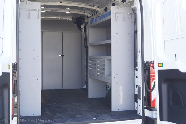 2020 Ford Transit 250 Med Roof AWD, Kargo Master Upfitted Cargo Van #20P484 - photo 1