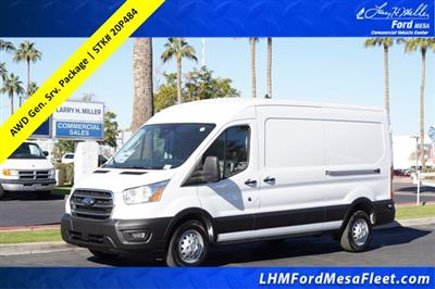 2020 Ford Transit 250 Med Roof AWD, Kargo Master General Service Upfitted Cargo Van #20P484 - photo 1