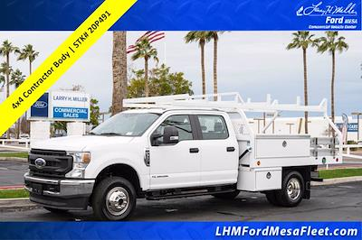 2020 Ford F-350 Crew Cab DRW 4x4, Royal Contractor Body #20P491 - photo 1