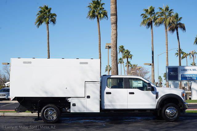 2020 Ford F-550 Crew Cab DRW 4x4, Knapheide Standard Forestry Chipper Body #20P495 - photo 11