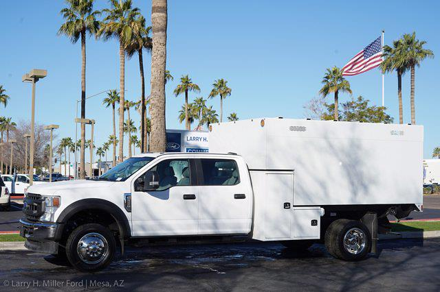 2020 Ford F-550 Crew Cab DRW 4x4, Knapheide Standard Forestry Chipper Body #20P495 - photo 12