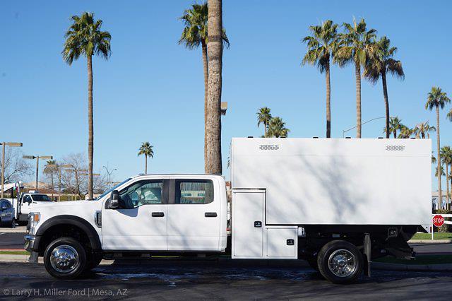 2020 Ford F-550 Crew Cab DRW 4x4, Knapheide Standard Forestry Chipper Body #20P495 - photo 4