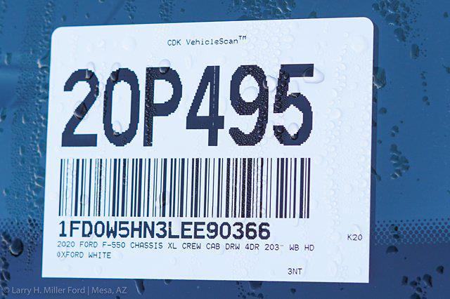 2020 Ford F-550 Crew Cab DRW 4x4, Knapheide Standard Forestry Chipper Body #20P495 - photo 30
