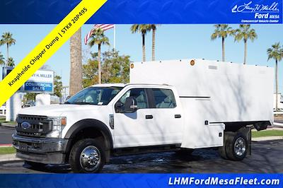 2020 Ford F-550 Crew Cab DRW 4x4, Knapheide Standard Forestry Chipper Body #20P495 - photo 1