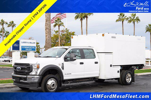2020 Ford F-550 Crew Cab DRW 4x4, Knapheide Chipper Body #20P506 - photo 1
