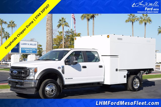 2020 Ford F-550 Crew Cab DRW 4x4, Knapheide Chipper Body #20P507 - photo 1