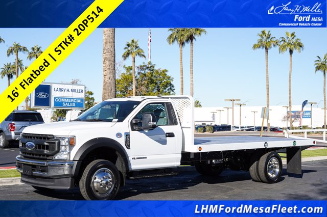 2020 Ford F-550 Regular Cab DRW 4x4, Scelzi SFB Platform Body #20P514 - photo 1