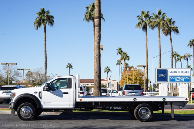 2020 Ford F-550 Regular Cab DRW 4x4, Scelzi SFB Platform Body #20P514 - photo 5
