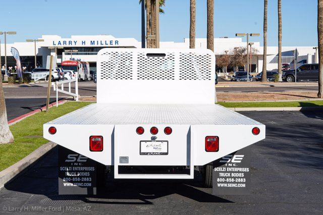 2020 Ford F-550 Regular Cab DRW 4x4, Scelzi SFB Platform Body #20P514 - photo 6
