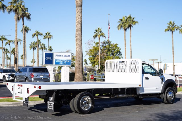 2020 Ford F-550 Regular Cab DRW 4x4, Scelzi SFB Platform Body #20P514 - photo 7