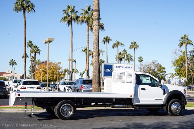 2020 Ford F-550 Regular Cab DRW 4x4, Scelzi SFB Platform Body #20P514 - photo 8