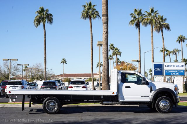 2020 Ford F-550 Regular Cab DRW 4x4, Scelzi SFB Platform Body #20P514 - photo 9