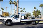 2020 Ford F-550 Regular Cab DRW 4x4, Scelzi SFB Platform Body #20P514 - photo 3