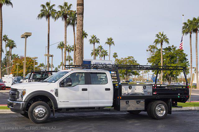 2020 Ford F-450 Crew Cab DRW 4x2, Freedom Contractor Body #20P516 - photo 4