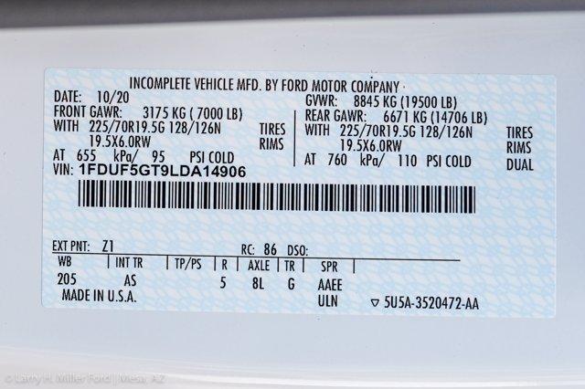 2020 Ford F-550 Regular Cab DRW 4x2, Scelzi SFB Platform Body #20P519 - photo 23