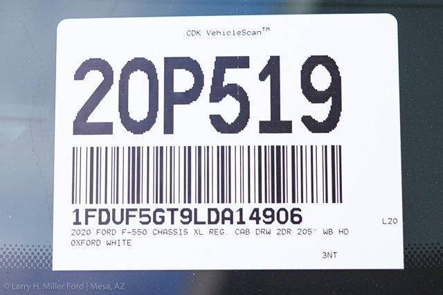 2020 Ford F-550 Regular Cab DRW 4x2, Scelzi SFB Platform Body #20P519 - photo 24