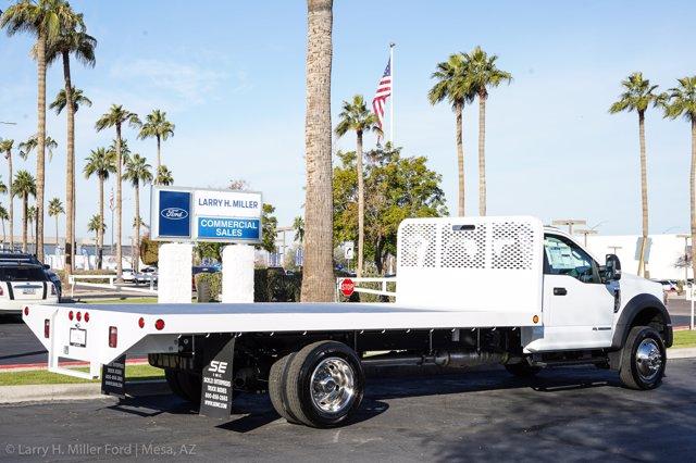 2020 Ford F-550 Regular Cab DRW 4x2, Scelzi SFB Platform Body #20P519 - photo 9