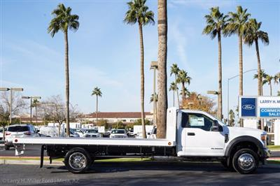 2020 Ford F-550 Regular Cab DRW 4x2, Scelzi SFB Platform Body #20P519 - photo 11