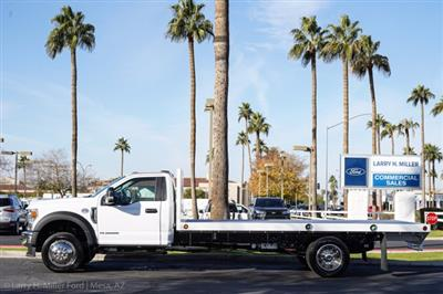 2020 Ford F-550 Regular Cab DRW 4x2, Scelzi SFB Platform Body #20P519 - photo 5