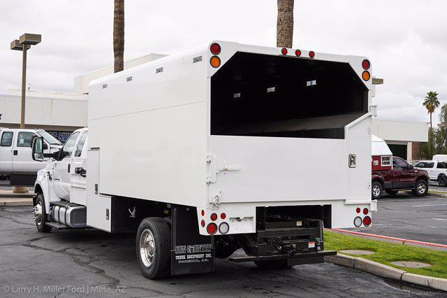 2021 Ford F-650 Super Cab DRW 4x2, Arbortech Chipper Body #21F014 - photo 1