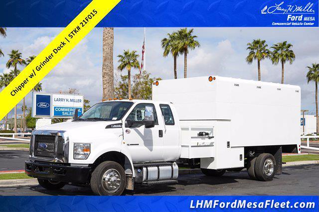 2021 Ford F-650 Super Cab DRW 4x2, Arbortech Chipper Body #21F015 - photo 1