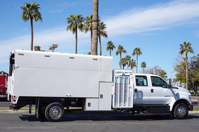 2021 Ford F-650 Crew Cab DRW 4x2, Arbortech Chipper Body #21F016 - photo 11