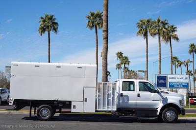 2021 Ford F-650 Crew Cab DRW 4x2, Arbortech Chipper Body #21F016 - photo 12