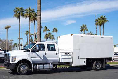 2021 Ford F-650 Crew Cab DRW 4x2, Arbortech Chipper Body #21F016 - photo 8
