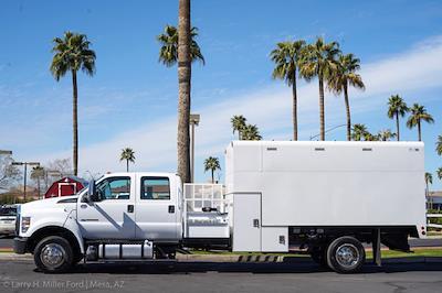 2021 Ford F-650 Crew Cab DRW 4x2, Arbortech Chipper Body #21F016 - photo 5