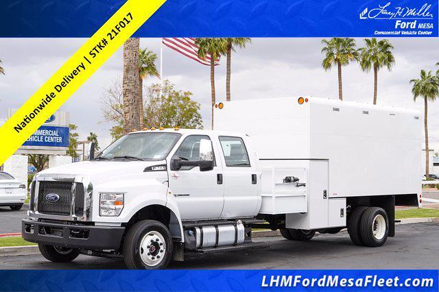2021 Ford F-650 Crew Cab DRW 4x2, Arbortech Chipper Body #21F017 - photo 1