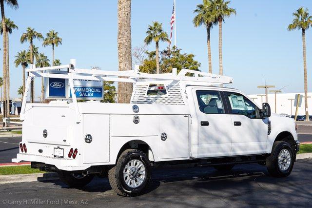 2021 Ford F-350 Crew Cab 4x4, Milron Aluminum Service Service Body #21F124 - photo 11