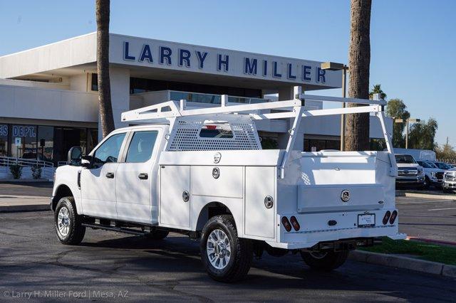 2021 Ford F-350 Crew Cab 4x4, Milron Aluminum Service Service Body #21F124 - photo 2