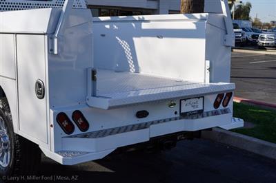2021 Ford F-350 Crew Cab 4x4, Milron Aluminum Service Service Body #21F124 - photo 9
