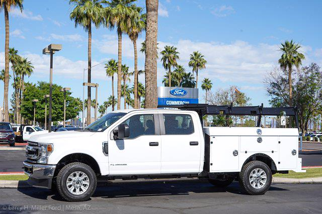 2021 Ford F-350 Crew Cab 4x4, Milron Aluminum Service Service Body #21F359 - photo 3