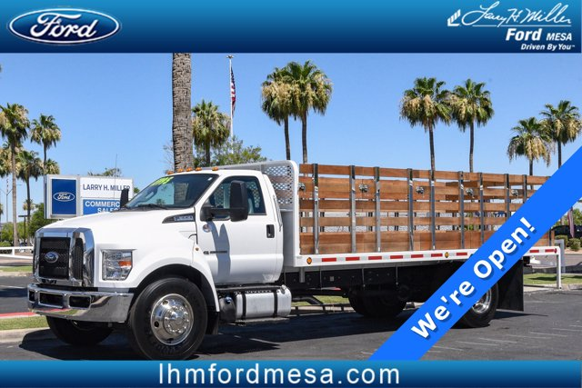 2019 Ford F-650 Regular Cab DRW 4x2, Scelzi Stake Bed #21P001A - photo 1