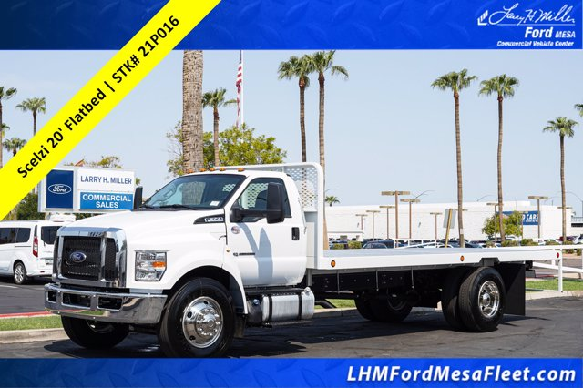 2021 Ford F-650 Regular Cab DRW 4x2, Scelzi Platform Body #21P016 - photo 1