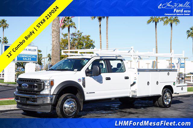 2021 Ford F-450 Crew Cab DRW 4x2, Royal Service Combo Body #21P024 - photo 1