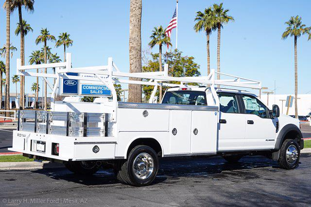 2021 Ford F-450 Crew Cab DRW 4x2, Royal Service Combo Body #21P024 - photo 10