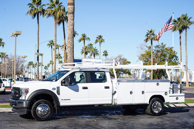 2021 Ford F-450 Crew Cab DRW 4x2, Royal Service Combo Body #21P024 - photo 4