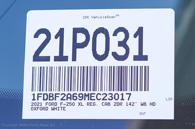 2021 Ford F-250 Regular Cab 4x2, Royal Service Body #21P031 - photo 29